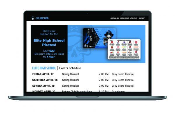 Elite Fundraising Website Banner + Email Image